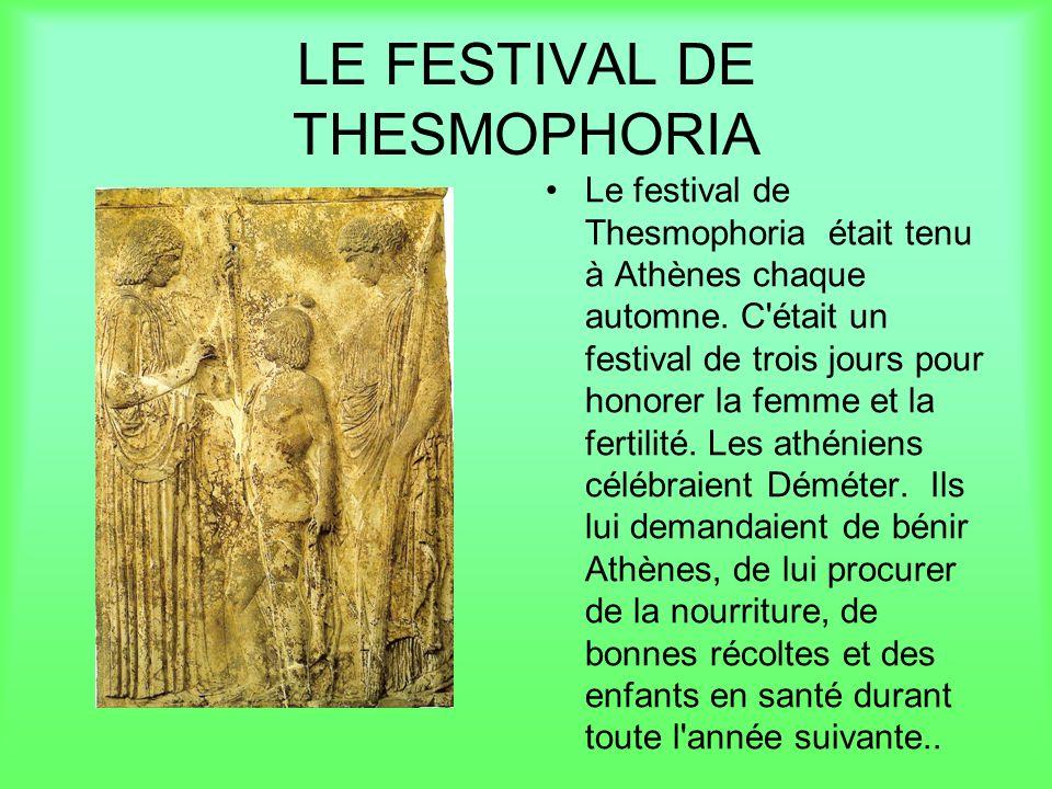 Les préparations pour le festival commence au printemps.