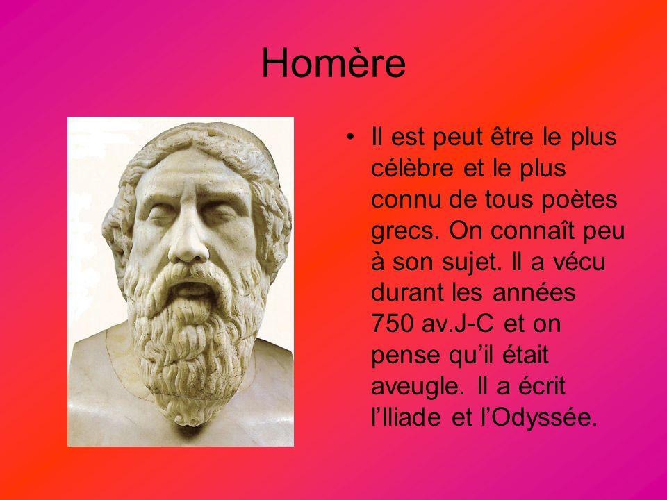 L Iliade et LOdyssée racontent des événements passés de lhistoire ancienne grecque – Âge Héroïque, quand des héros grecs habitaient sur la terre et ont combattu dans une grande guerre contre les Troyens, les ennemis de la Grèce.