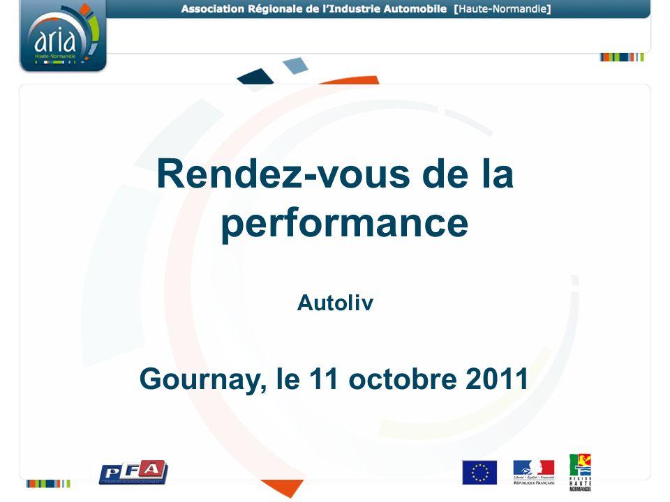 Rendez-vous de la performance Autoliv Gournay, le 11 octobre 2011