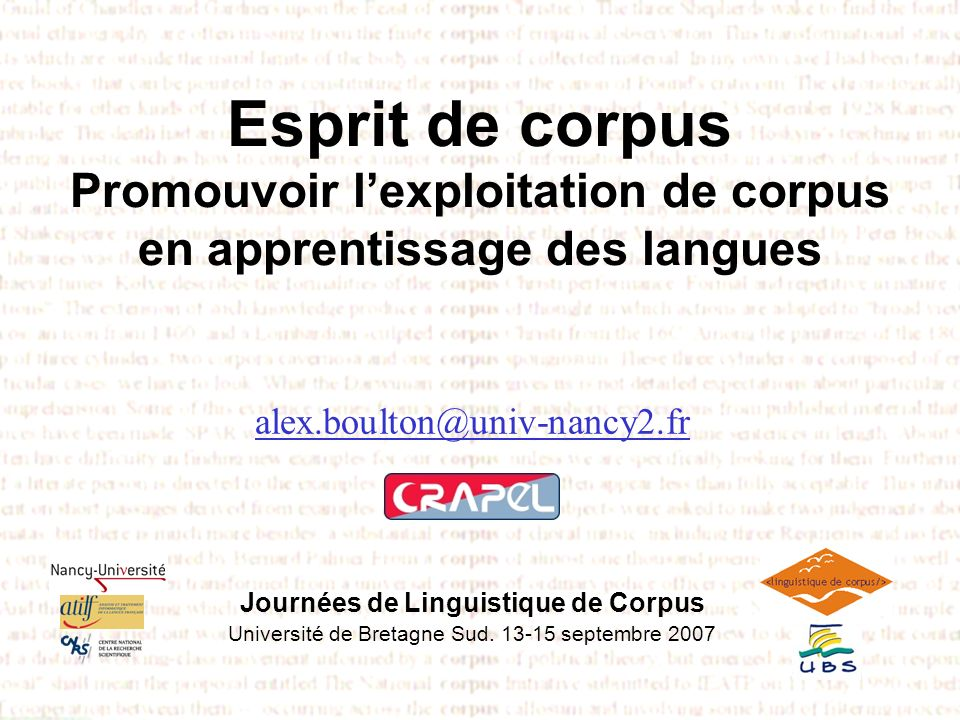 Cultures denseignement esprit de corpus esprit de corpus esprit de corpus esprit de corpus esprit de corpus esprit de corpus esprit de corpus esprit de corpus esprit de corpus esprit de corpus esprit de corpus Sensibilité culturelle : FL pedagogy… has to be local, designed for specific learners and settings.