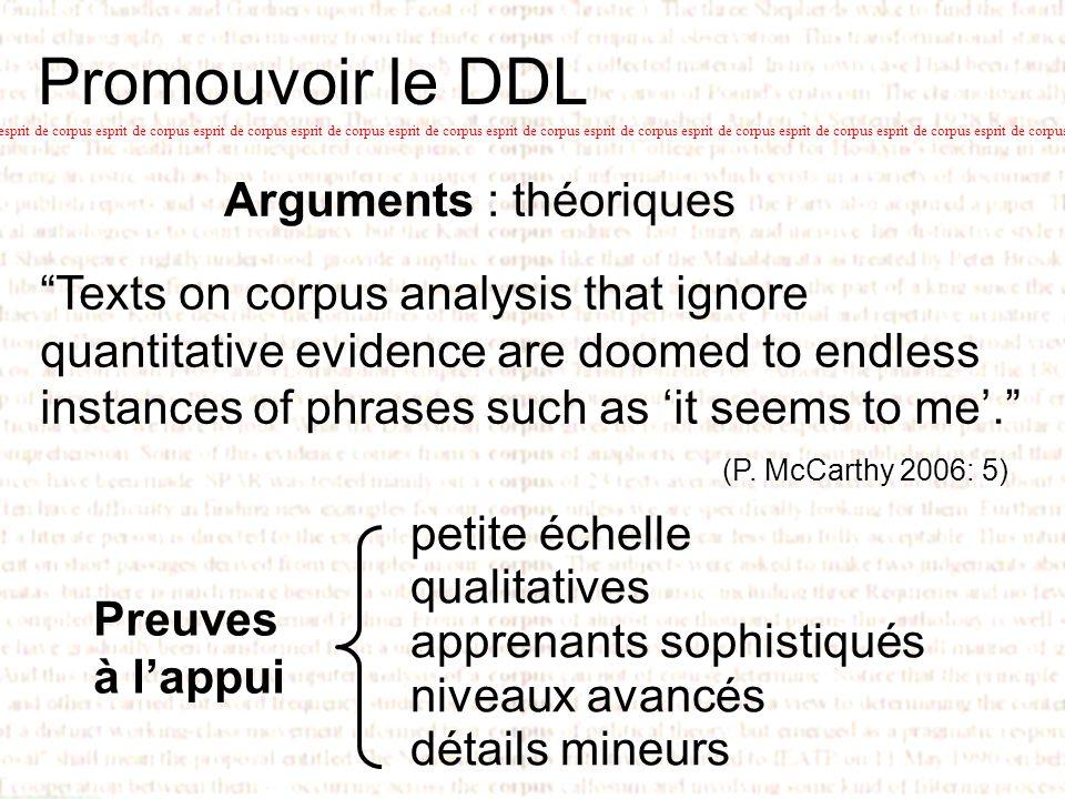 Promouvoir le DDL esprit de corpus esprit de corpus esprit de corpus esprit de corpus esprit de corpus esprit de corpus esprit de corpus esprit de cor