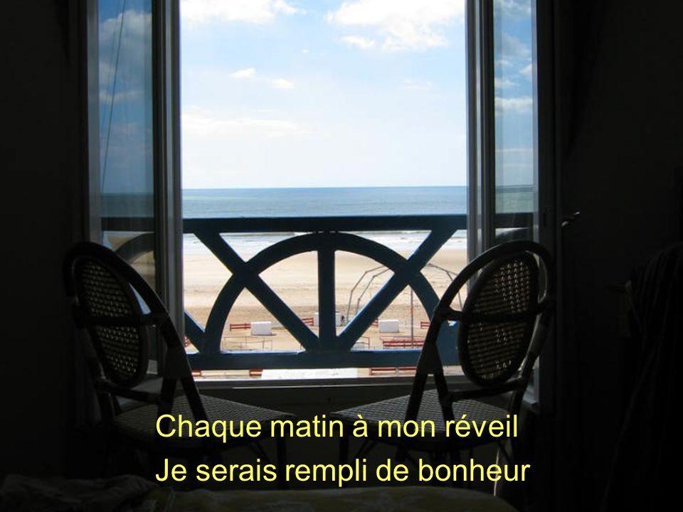 Poème de Claude Marcel Breault Chaque matin à mon réveil Je serais rempli de bonheur