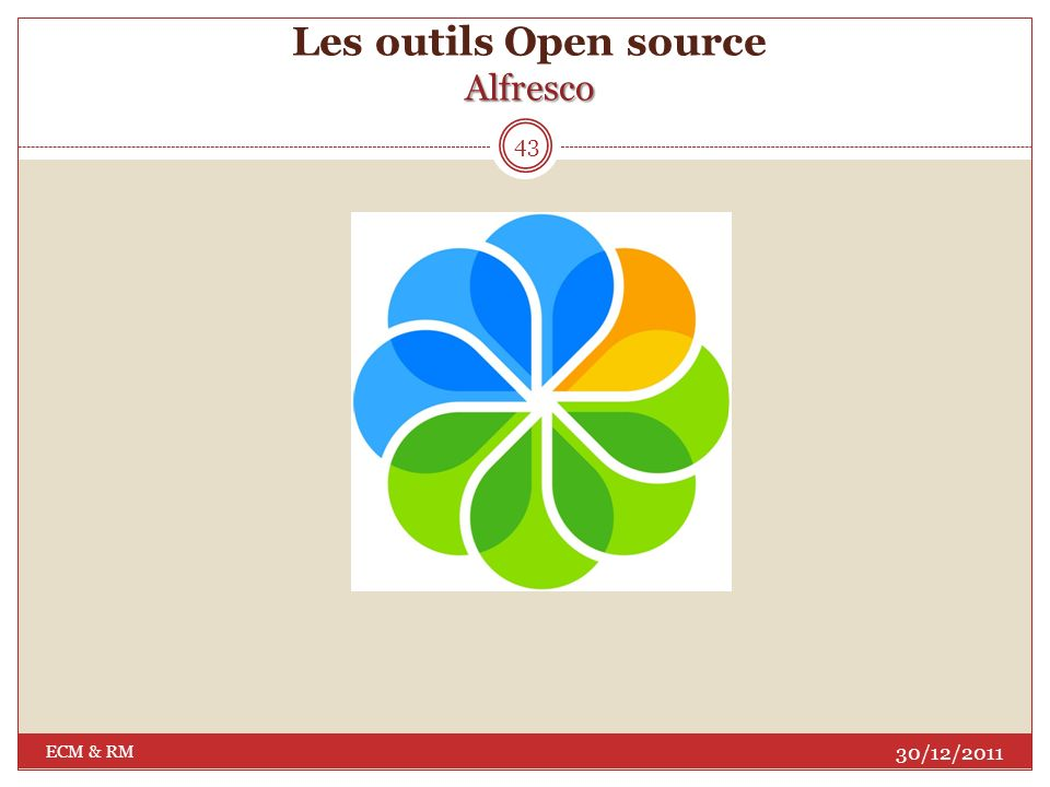 Atouts: Gratuité des licences : modèle open source; Etendue fonctionnelle; Interface web simple, ergonome et intuitive; Une architecture flexible, extensible et avec des capacités de personnalisation illimitées.