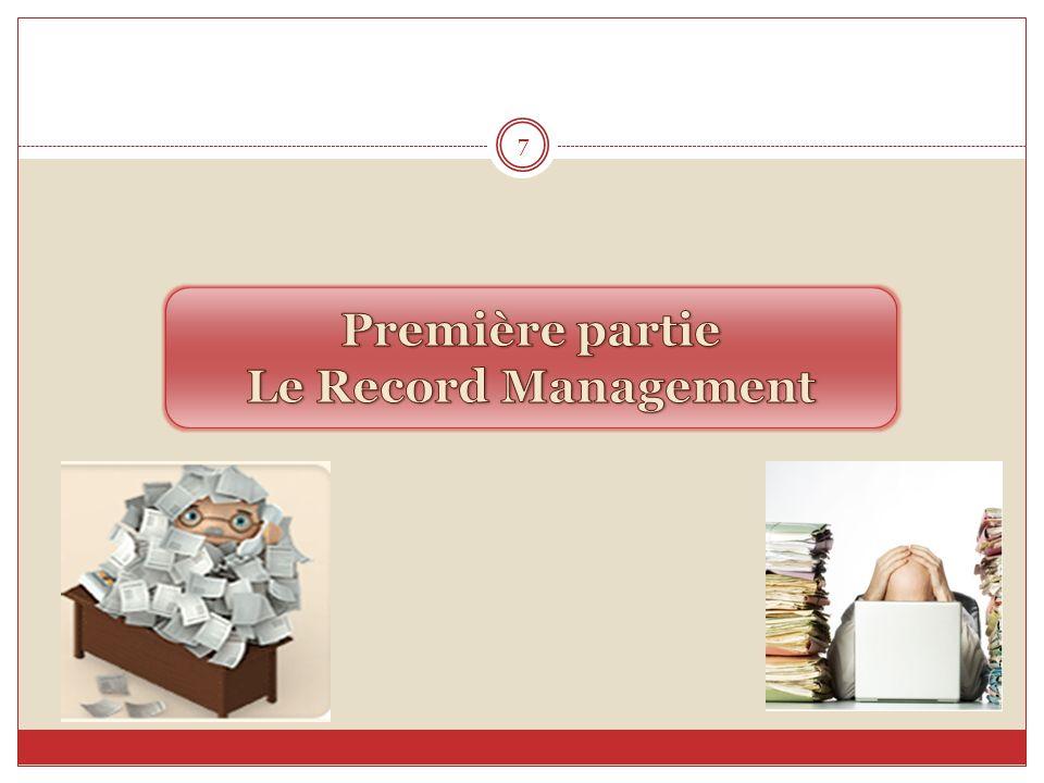 Introduction (2/2) Devant cet état de fait, les organismes se trouvent exigés, de passer des pratiques de larchivistique classique à celles de larchivistique contemporaine, avec la parution de nouveaux concepts tels que : La gestion du contenu dentreprise (ECM), le records management (RM), la gestion électronique des documents (GED)...