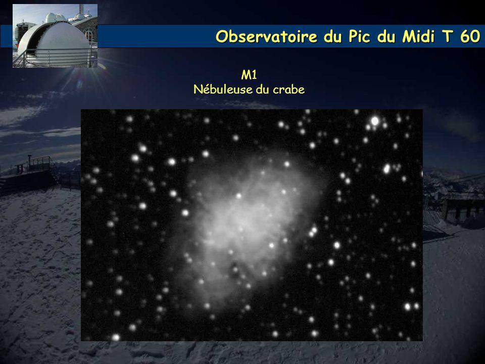 Observatoire du Pic du Midi T 60 M1 Nébuleuse du crabe