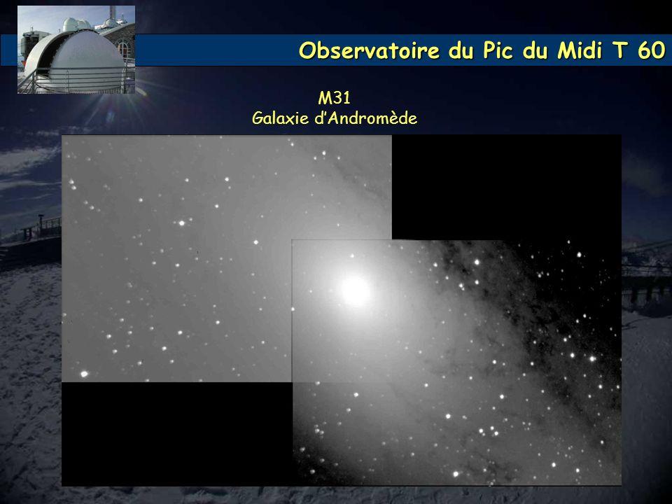 Observatoire du Pic du Midi T 60 M31 Galaxie dAndromède