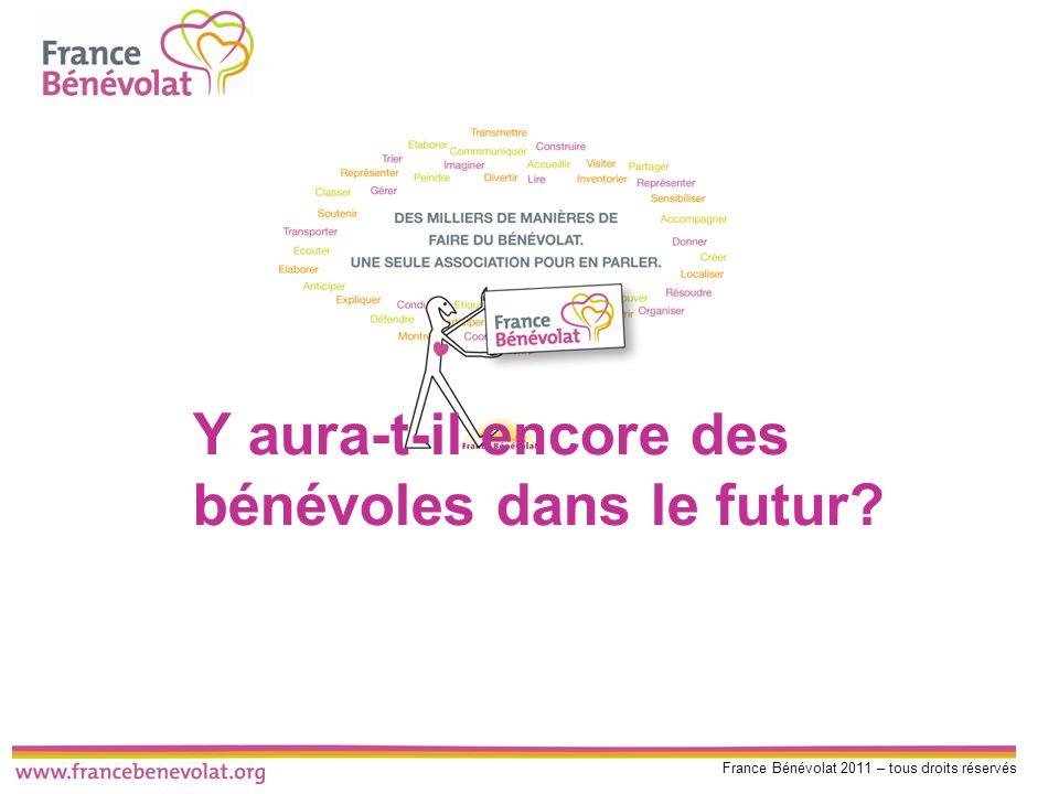 France Bénévolat 2011 – tous droits réservés Y aura-t-il encore des bénévoles dans le futur?