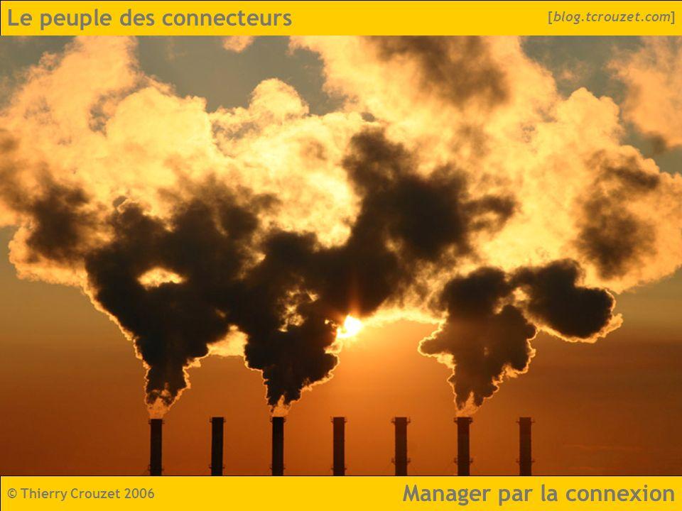 Le peuple des connecteurs © Thierry Crouzet 2006 [blog.tcrouzet.com] Manager par la connexion
