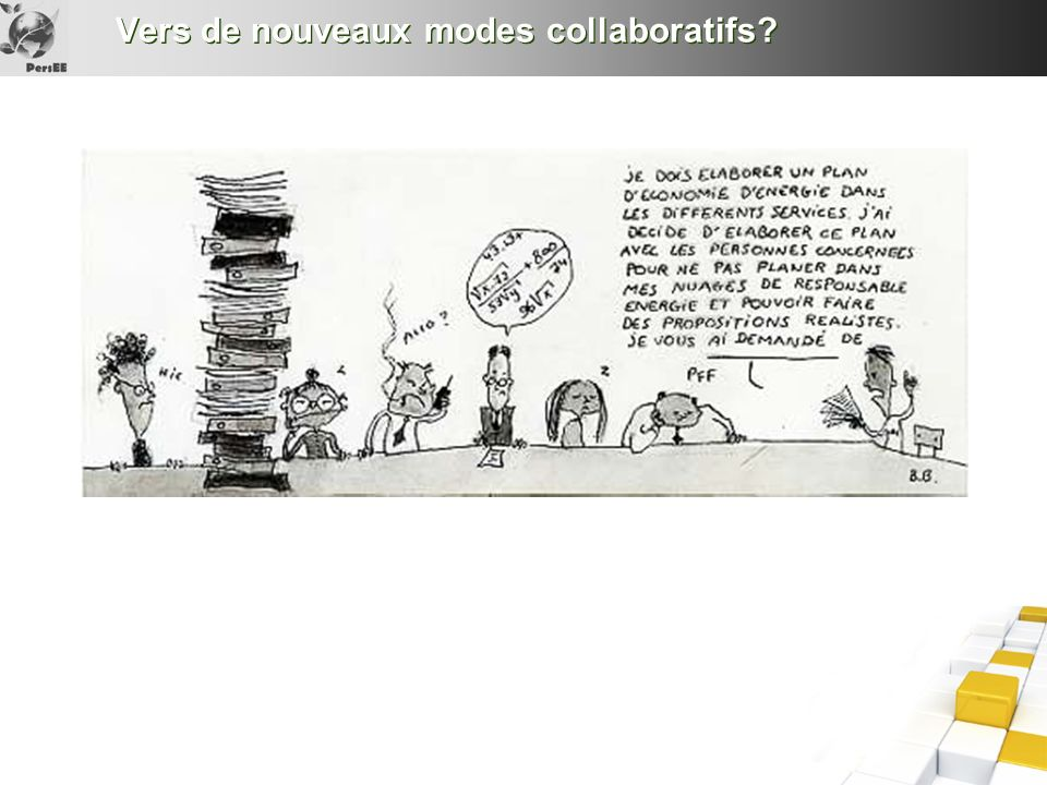 Vers de nouveaux modes collaboratifs?