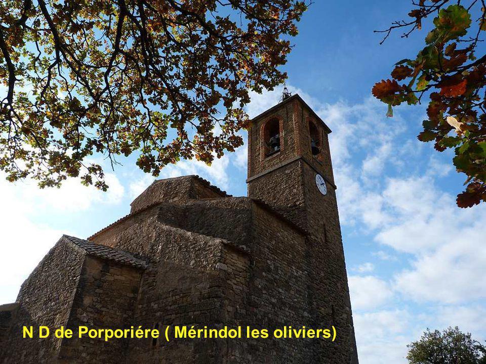 La Chapelle St Marcel a le pegue ( Nyons )
