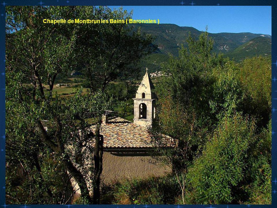 La Chapelle St Christophe ( dentelles de Montmirail )