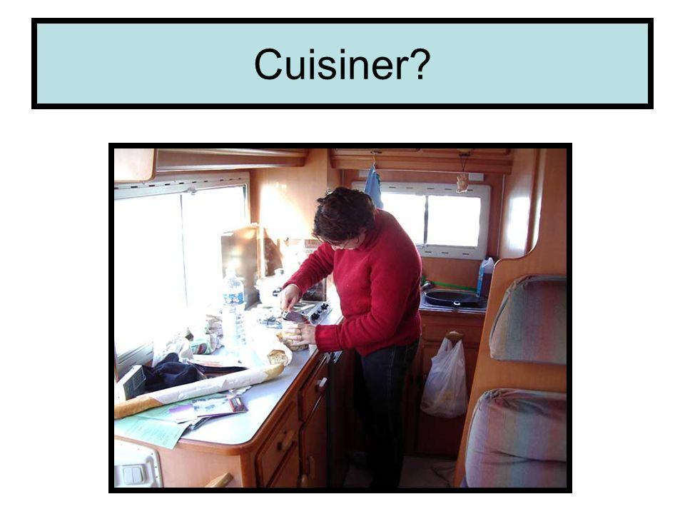 Cuisiner?