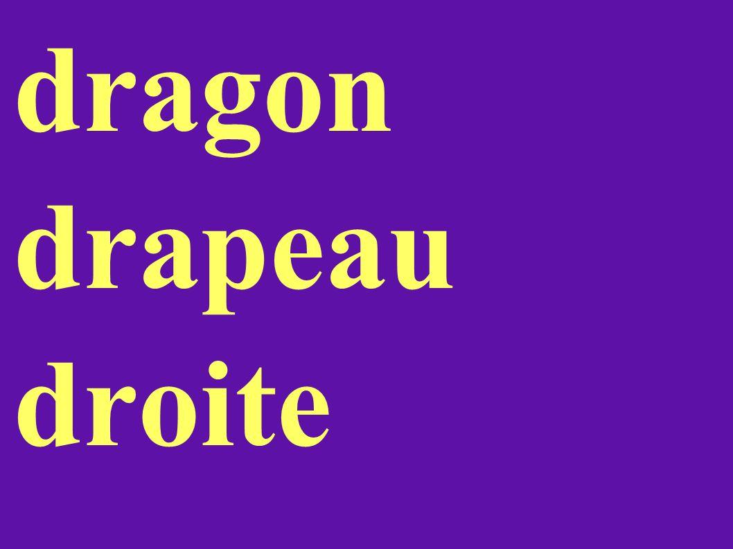 dragon drapeau droite