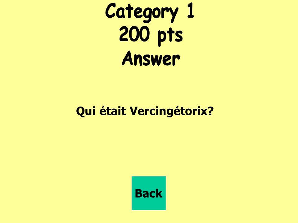 Qui était Vercingétorix Back
