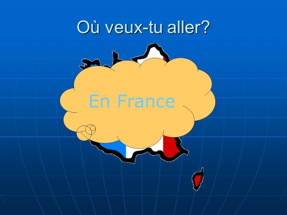 Où veux-tu aller? En France