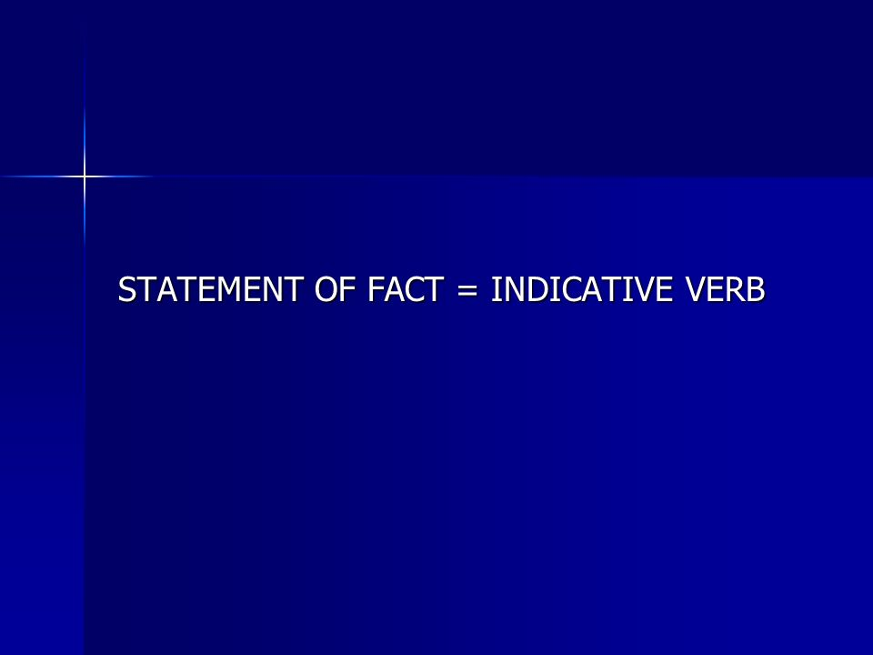 Le subjonctif Although these same statements of fact appear in the following sentences, the verb form changes.