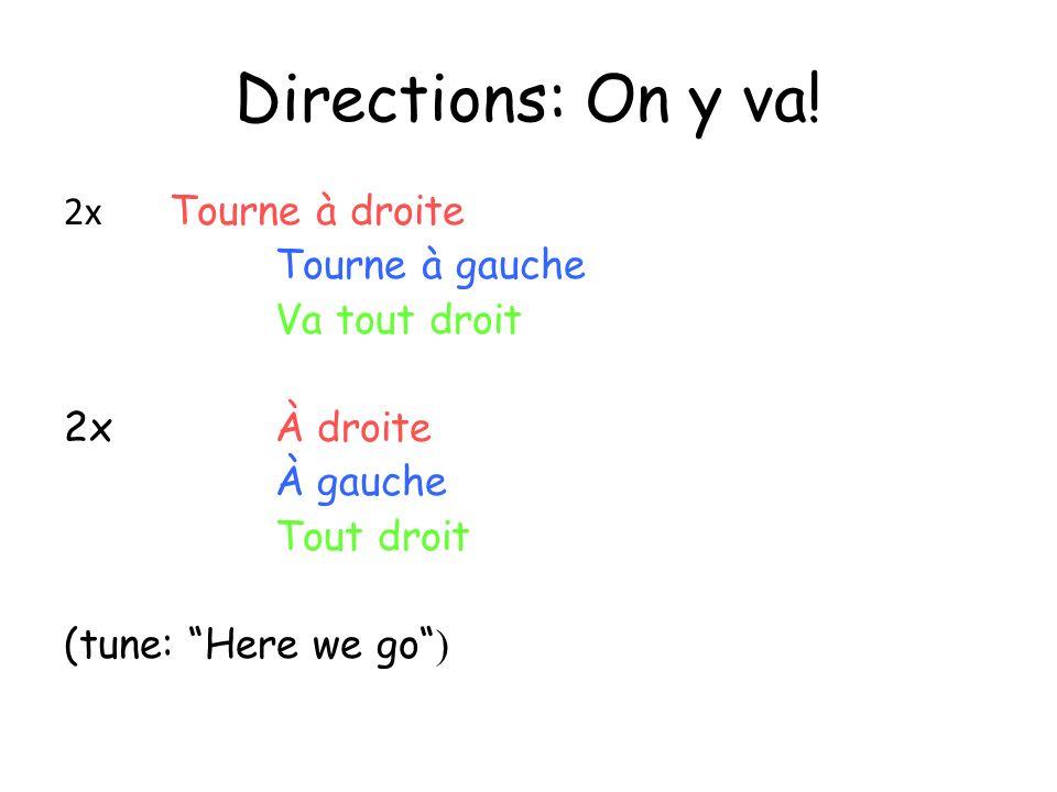 Colours (tune: Frère Jacques)