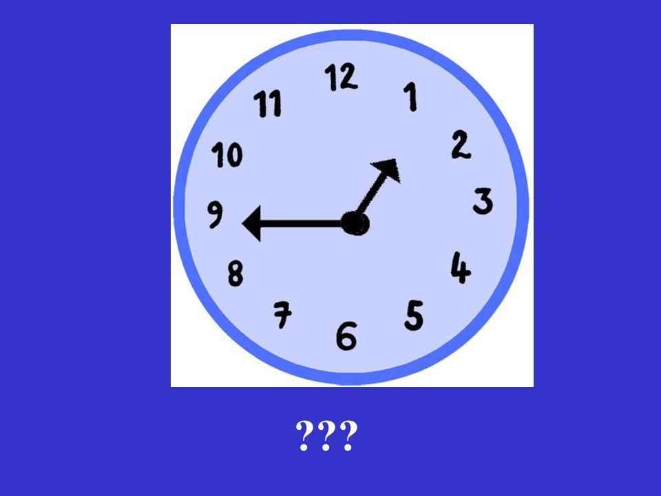 Il est neuf heures moins le quart