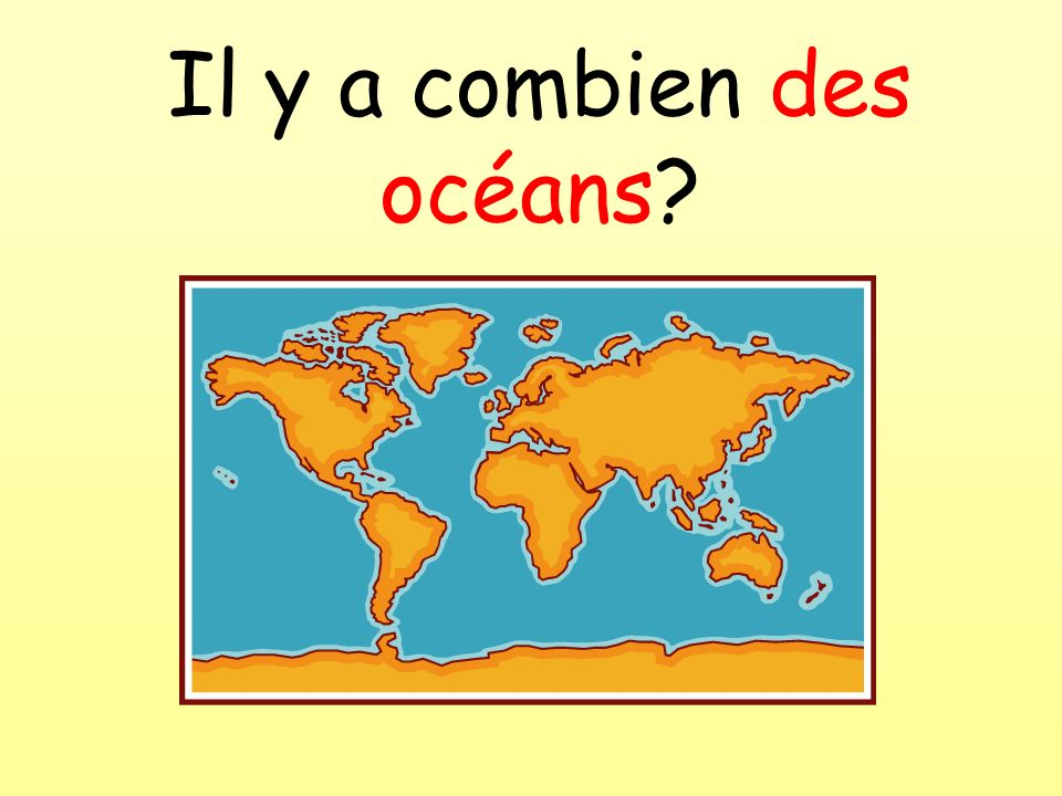 Il y a combien des océans?