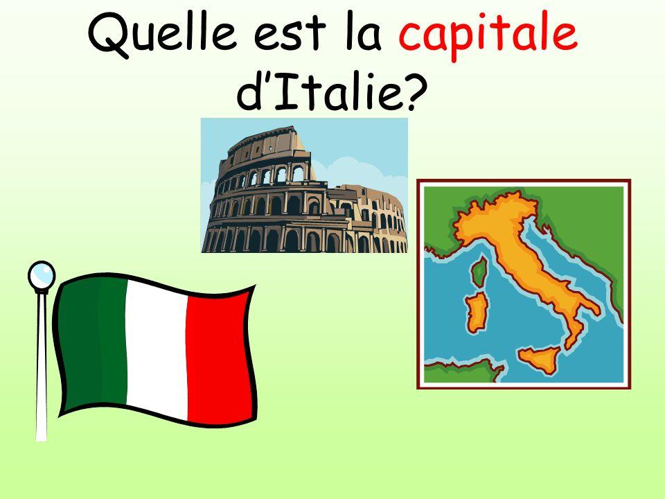 Quelle est la capitale dItalie?