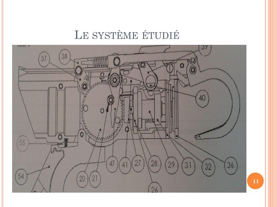 L E SYSTÈME ÉTUDIÉ 11