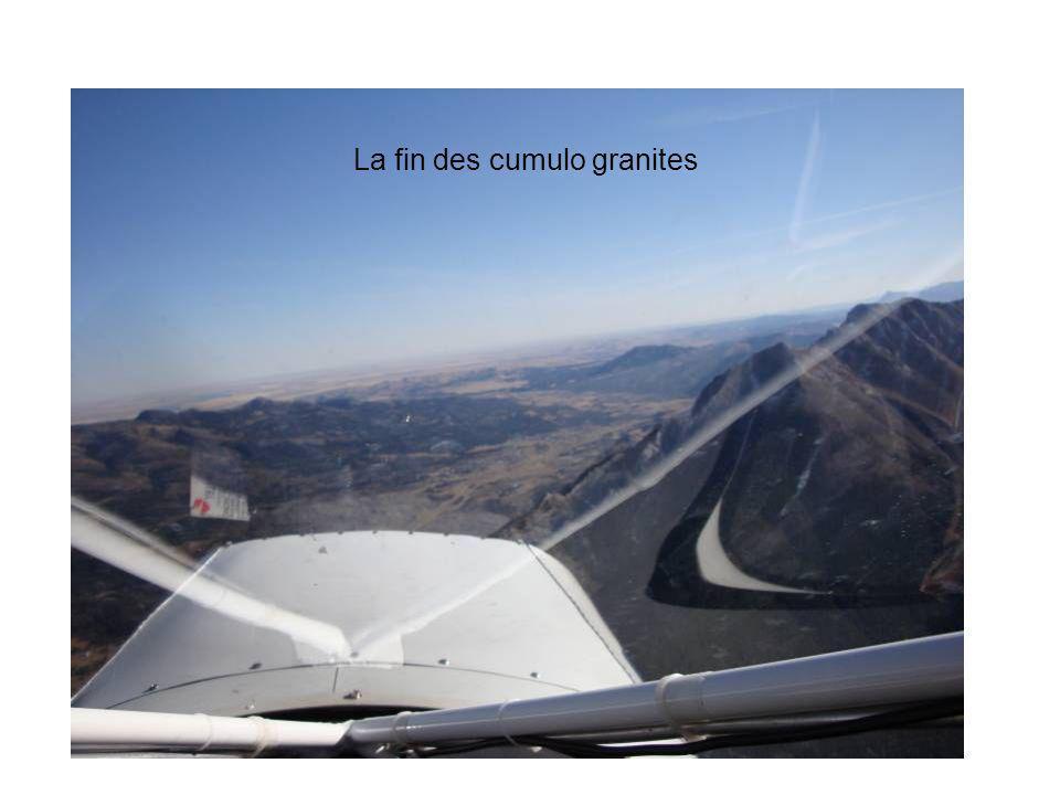 La fin des cumulo granites