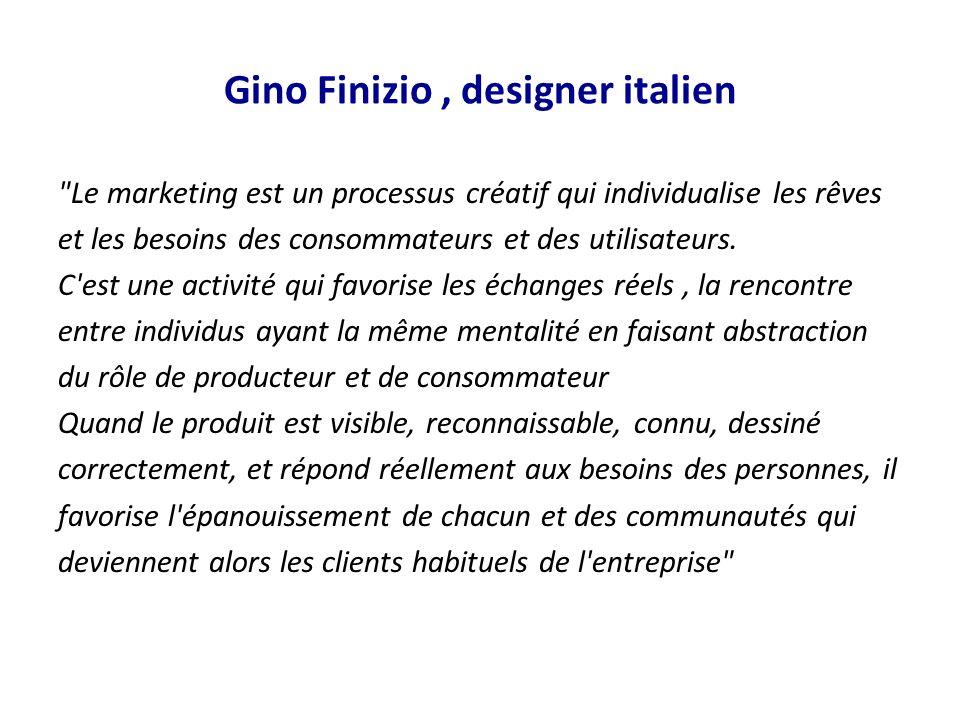 Gino Finizio, designer italien