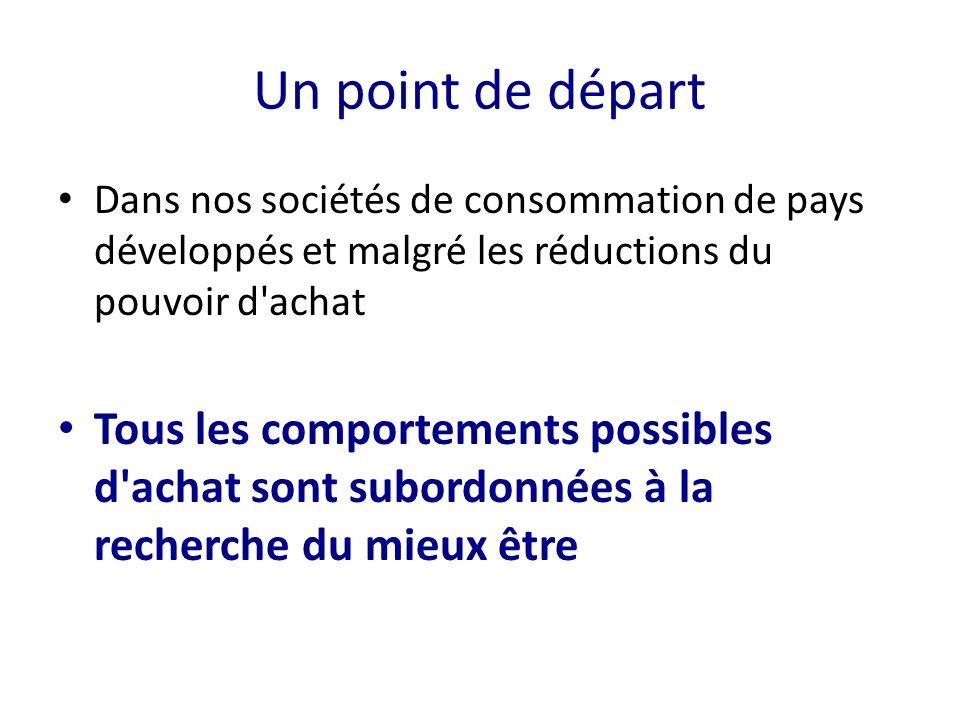 soutenue par 3 tendances majeures 1- la santé 2- l environnement 3- le lien social
