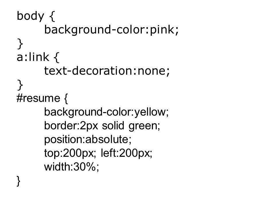 Voici le contenu du fichier monstyle.css Contenant les paramètres de style en lien avec toutes les pages d un site.