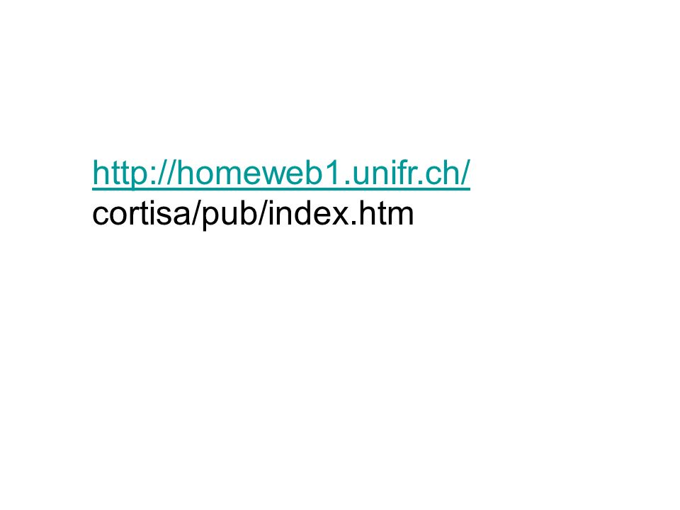 http://homeweb1.unifr.ch/ cortisa/pub/index.htm