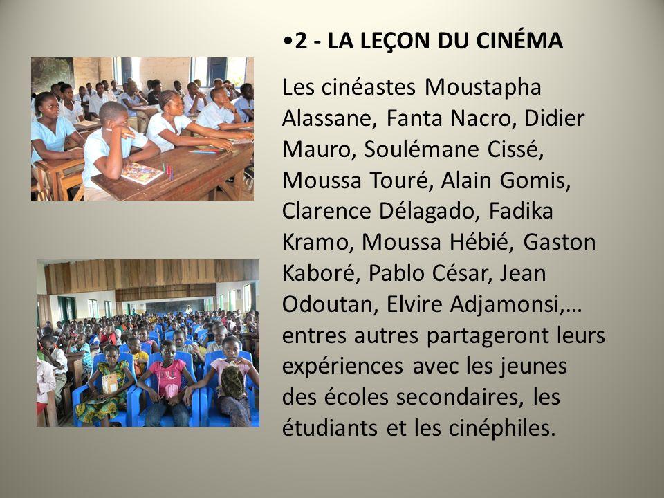 La 6 ème édition (04 < 07 décembre 2013) présente un festival comportant: 1 - COMPÉTITIONS.