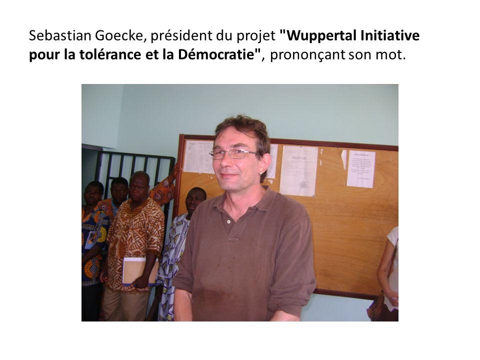 Sebastian Goecke, président du projet