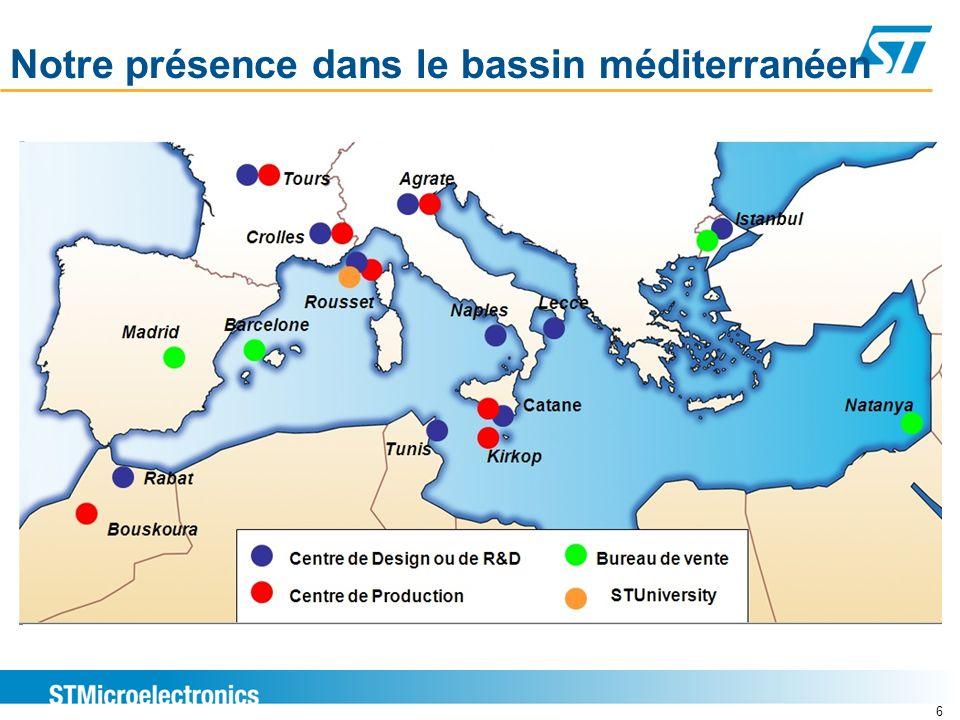 Notre présence dans le bassin méditerranéen 6