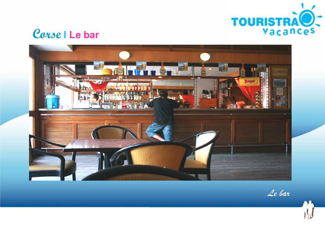 Corse I Le bar Le bar