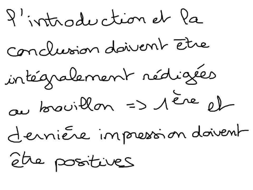 Introduction Lintroduction de la synthèse est composée de plusieurs éléments : – Une phrase daccroche qui introduit le sujet (donnée chiffrée, thème dactualité …) – Les définitions des termes du sujet – Lannonce du plan (grandes parties) – Le cadre spatio-temporel
