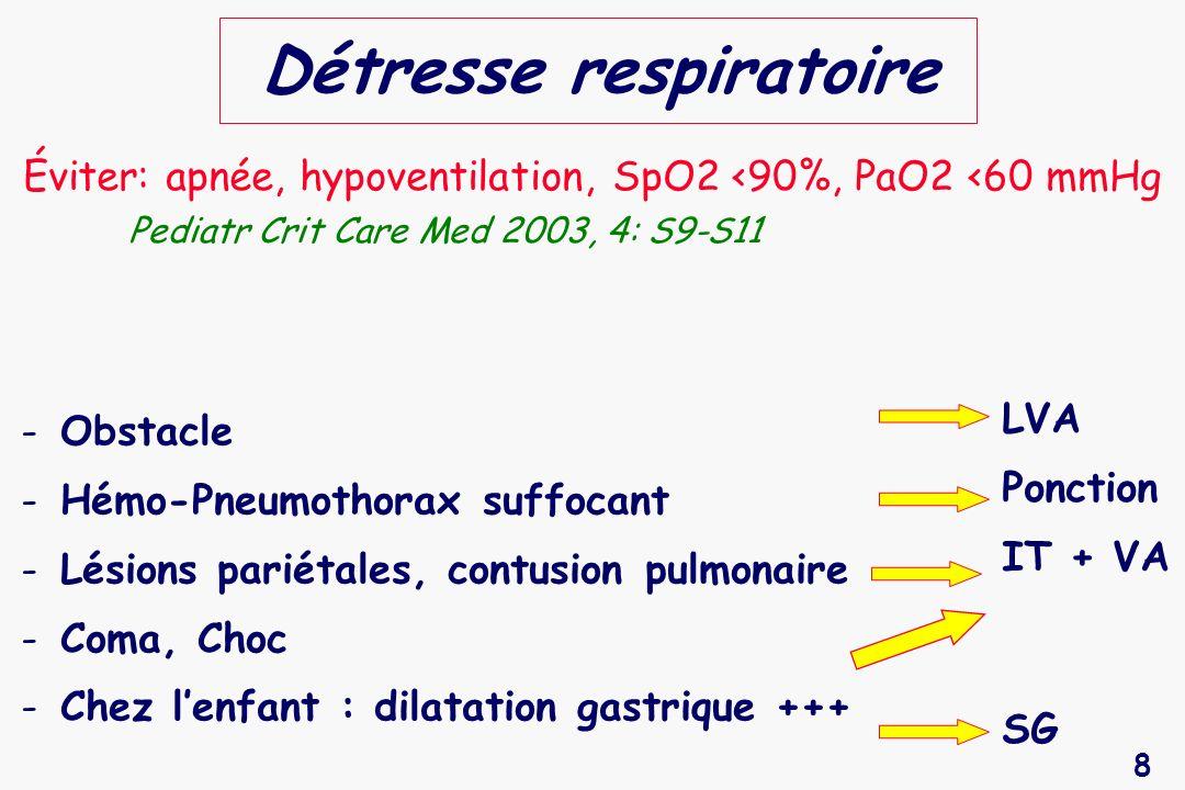 49 Craniectomie décompressive chez lenfant Contrôle Décompression PIC (mmHg) Taylor A.