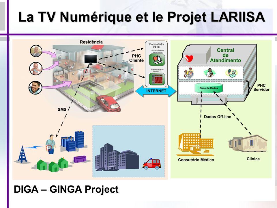 DIGA – GINGA Project La TV Numérique et le Projet LARIISA