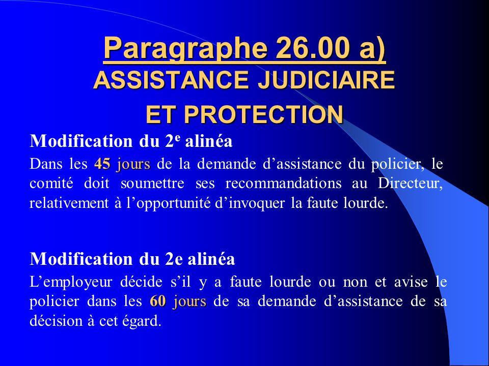 Paragraphe 24.02 b) PROMOTIONS Un sergent qui obtient la promotion de sergent- détective peut revenir au grade de sergent sans avoir à refaire le proc