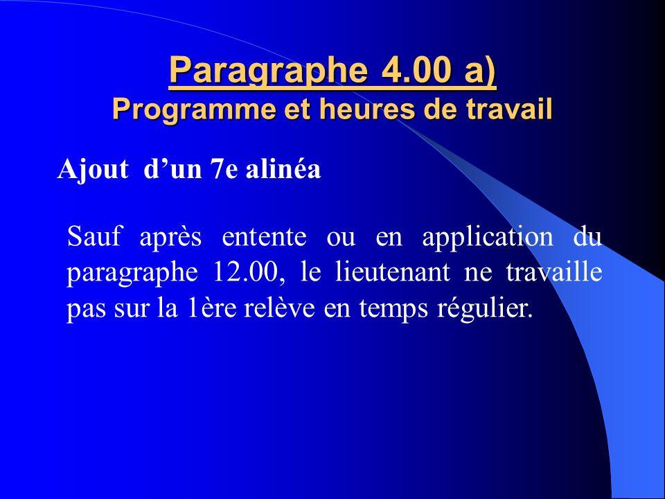 ARTICLE 2 SALAIRE Prime de métropole de 0,75 % au 31 décembre 2010 2011 1er juillet 201031 décembre 2010 Capitaine95 087 $0.75%1.95 $95 089 $ Lieutena