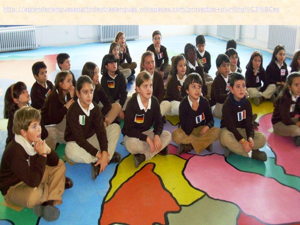 http://aprenderlenguasapartirdeotraslenguas.wikispaces.com/proyectos+pluriling%C3%BCes