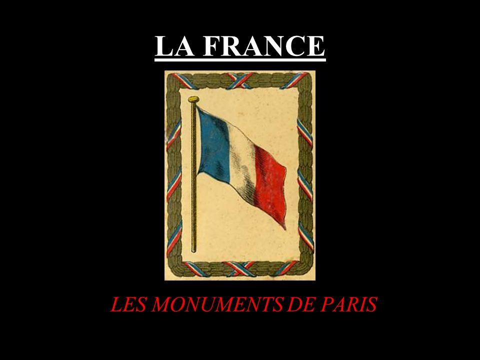 LA FRANCE LES MONUMENTS DE PARIS