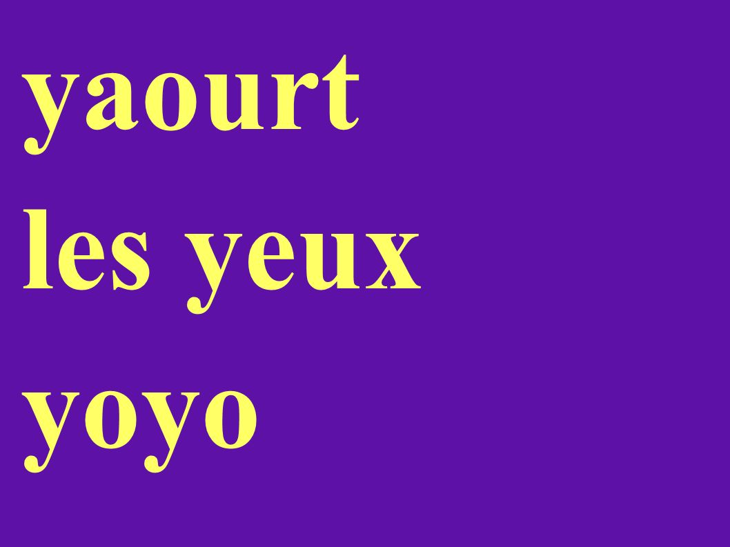 yaourt les yeux yoyo