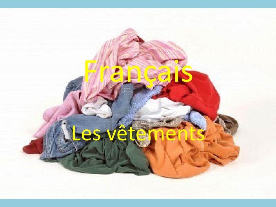 Français Les vêtements