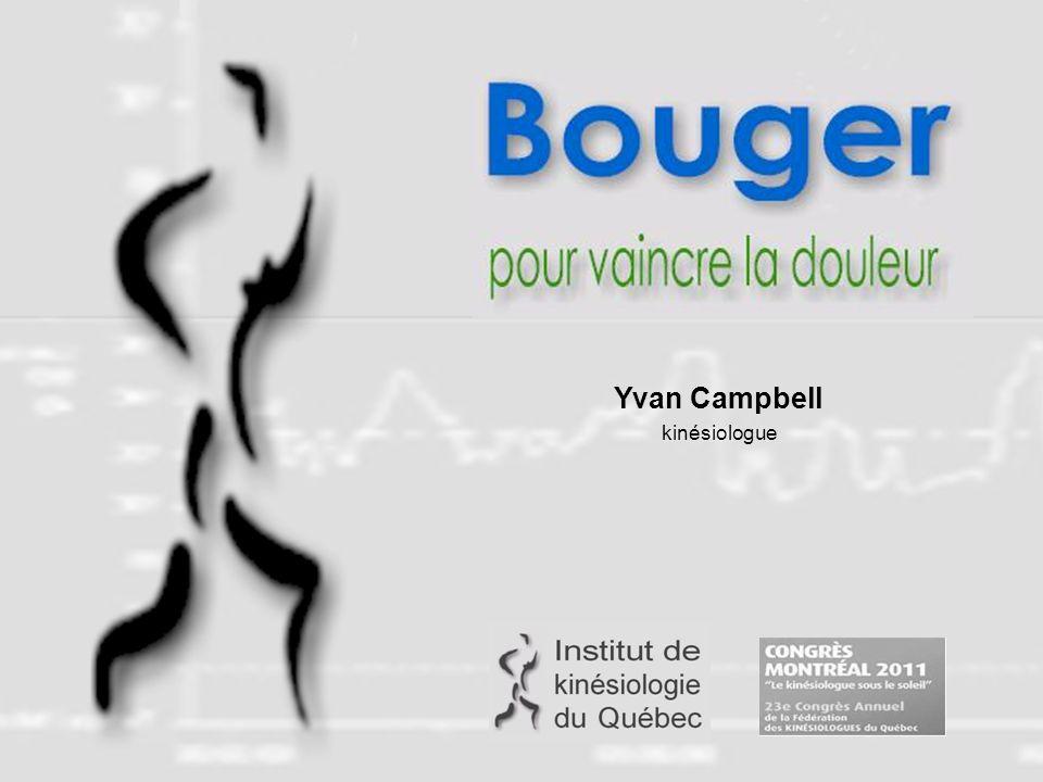 Détails des références au : http://www.yvanc.com/ref.htm Résumé de la conférence, documentation et liens supplémentaires au : www.yvanc.com/20110520 fkq 2011.htm Yvan Campbell 514-754-3475 Courriel: yvanc@yvanc.com Campbell, Y.