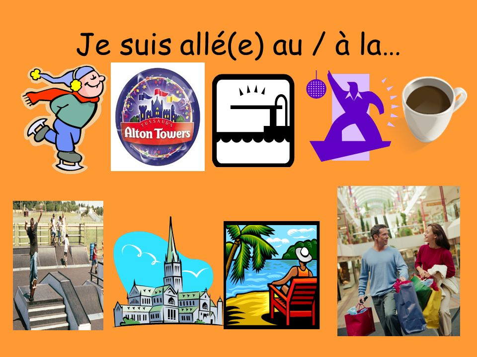 Je suis resté(e) & Cétait Le but: In this lesson you will be learning how to say where you stayed on your holiday.
