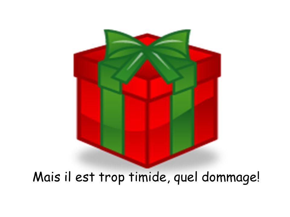 Mardi, je reçois un cadeau. Quelle surprise !
