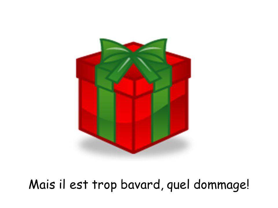 Jeudi, je reçois un cadeau. Quelle surprise !