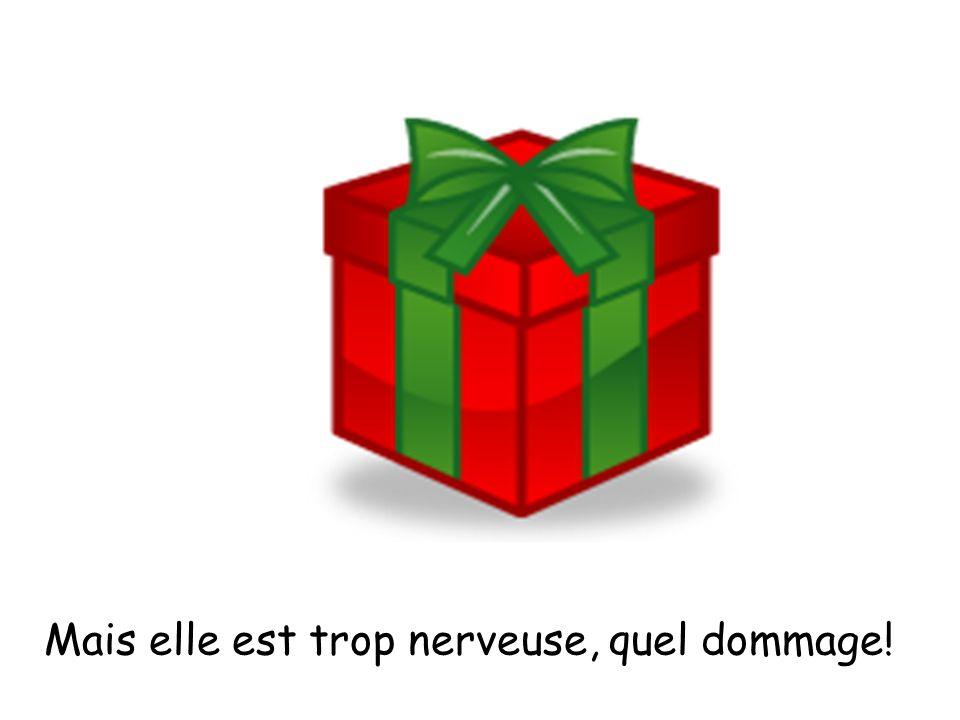 Dimanche, je reçois un cadeau. Quelle surprise !
