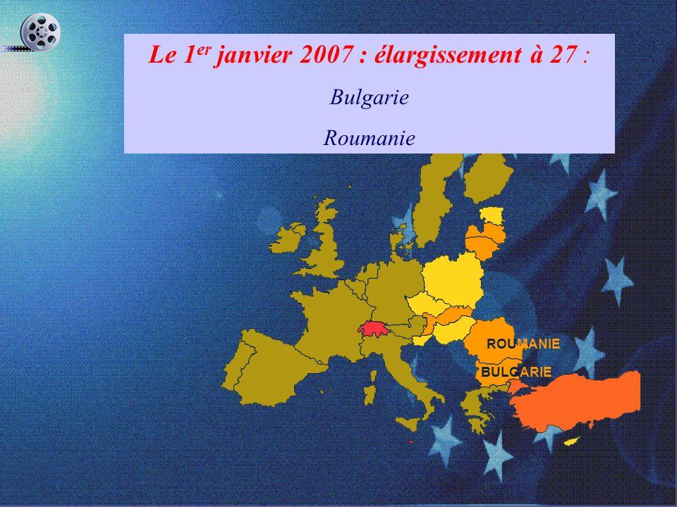 ESTONIE LETTONIE CHYPRE LITUANIE SLOVAQUIE POLOGNE HONGRIE RÉPUBLIQUE TCHÈQUE SLOVÉNIE MALTE Le 1er Mai 2004 : élargissement à 25 : Estonie, Lettonie,