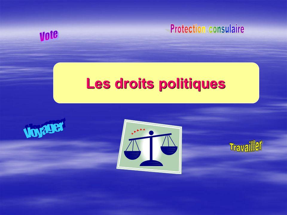 Les droits politiques
